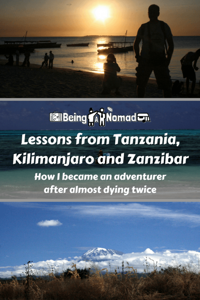 If you're wanting to climb Kilimanjaro, you might want to read this story first. Here's my account of altitude sickness on Kilimanjaro, almost drowning while scuba diving off the coast of Zanzibar and what I learned from it. #travelstories #inspirationalstories #tanzania #kilimanjaro #serengeti #zanzibar