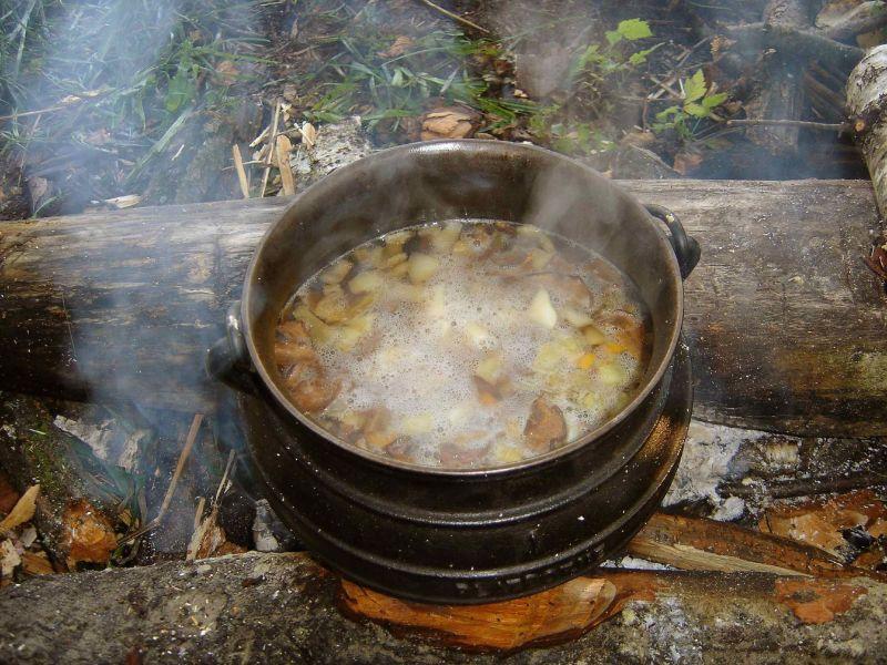 Zupa Grzybowy (Polish Mushroom Soup)