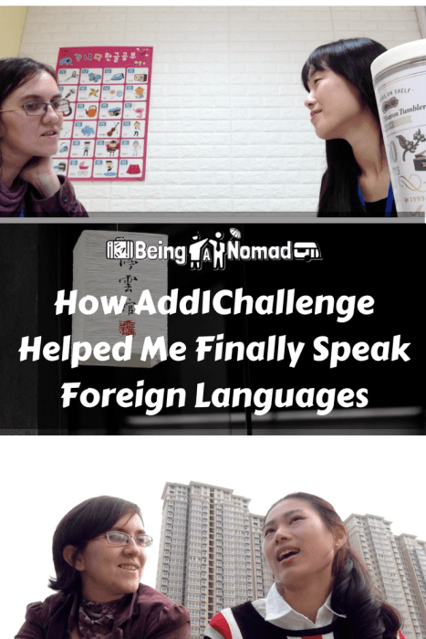 How Add1Challenge Helped Me Finally Speak Foreign Languages