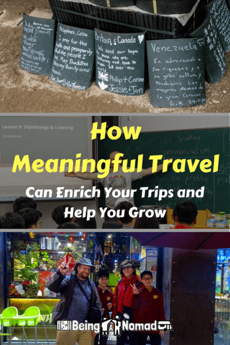 How Meaningful Travel Can Enrich Your Trips and Help You Grow