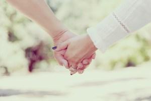redeemed: holding hands