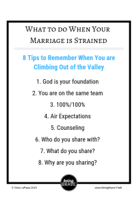 8 tips for a strained marriage