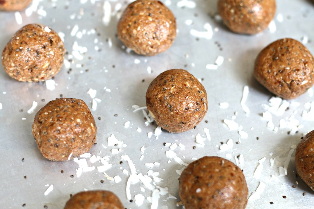 Cacao Coconut Bliss Balls from the Functional Feed