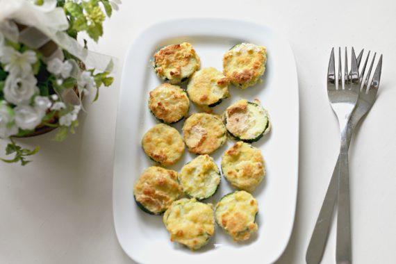 Non-Breaded Zucchini Bites