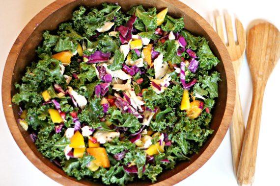 Hearty Butternut Kale Salad