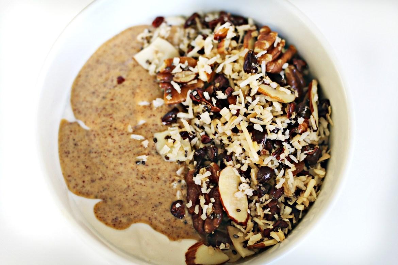 Keto Grainless Granola via BeingBrigid and the Functional Feed