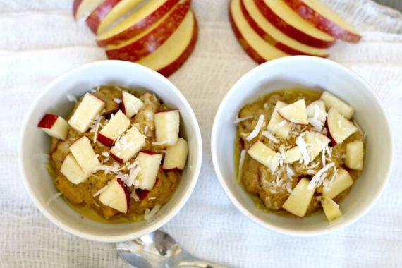 Pumpkin and Apple Porridge