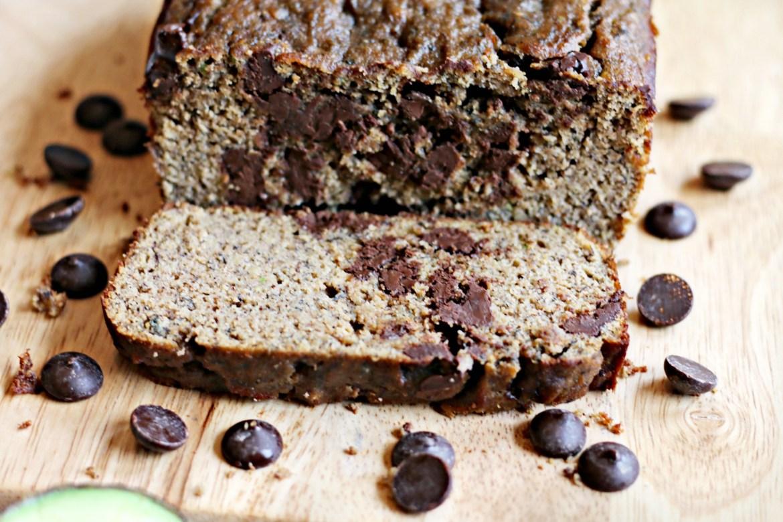 Chocolate Banana Cream Grain-free Bread from BeingBrigid