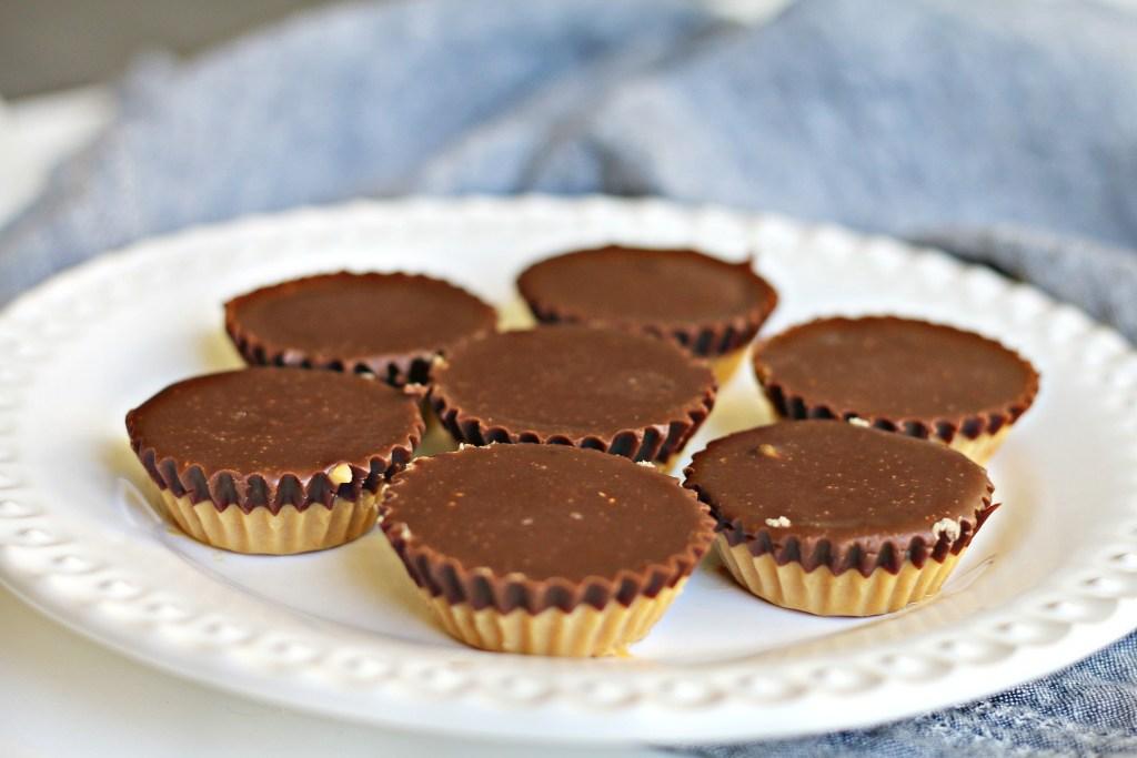 Chocolate Peanut Butter Cluster Cups BeingBrigid Brigid Titgemeier