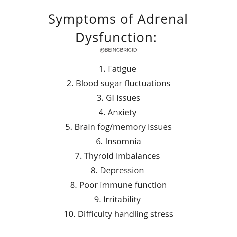 Is Stress Hurting your Health? What you Need to Know About Adrenal Dysfunction by Brigid Titgemeier BeingBrigid