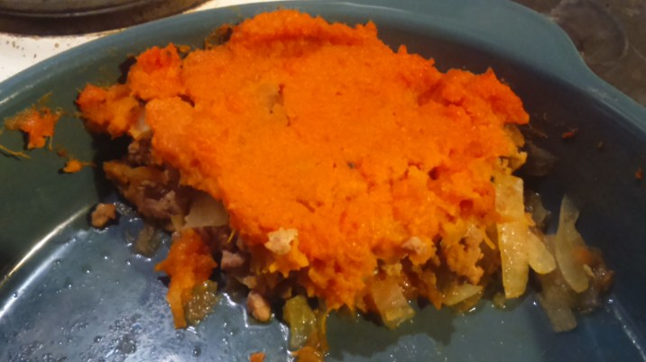 Turkey and Sweet Potato Pie