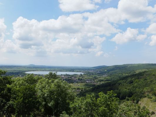 A view of Cheddar resevoir