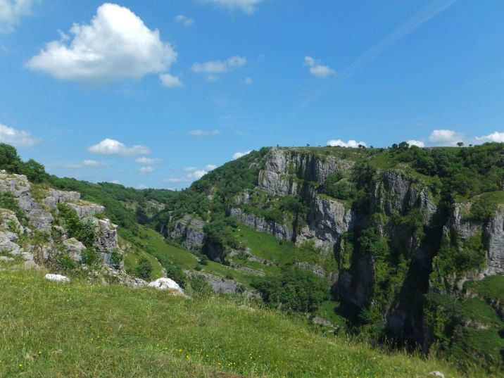 View from the Cheddar Gorge Walk
