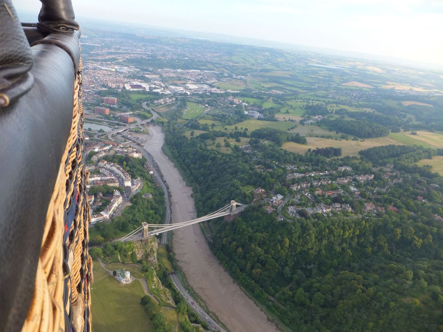 My Hot Air Balloon Experience with Bristol Balloons