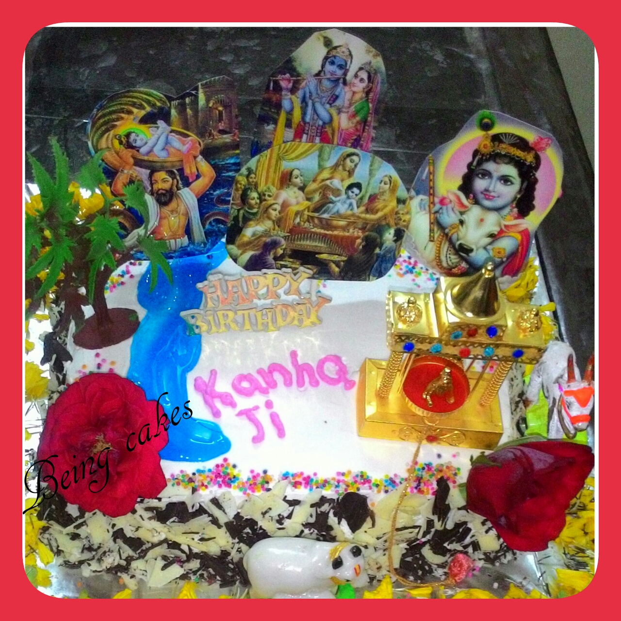 kanha ji birthday celebration