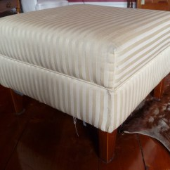 How To Recover A Sofa Without Sewing American Leather Sleeper Sheets Cowhide Ottoman  Being Fifty Something