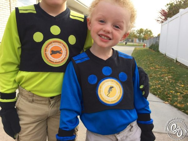 Wild Kratt Costumes Being Genevieve