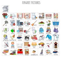 Chore Chart Picture Magnets