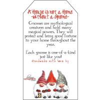 Free Printable Gnome Tags