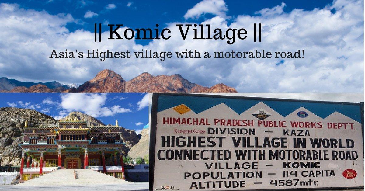 Komic Village – Spiti valley