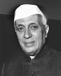 Jawaharlal Nehru first Prime Minister of India.