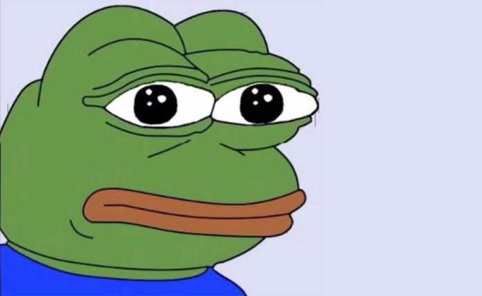 Pepe the Frog.