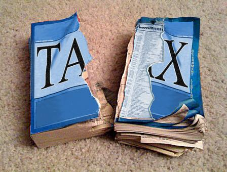 flat tax - being libertarian, taxation