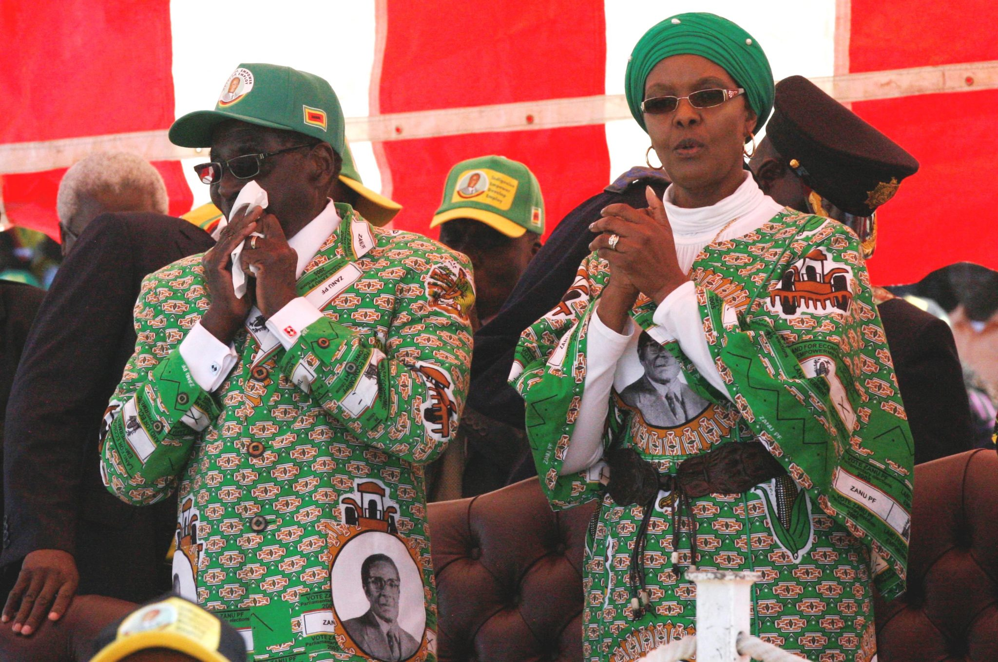 Zimbabwe first lady makes first public appearance