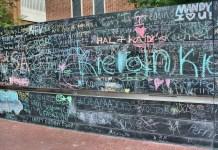 Free speech wall in Virginia