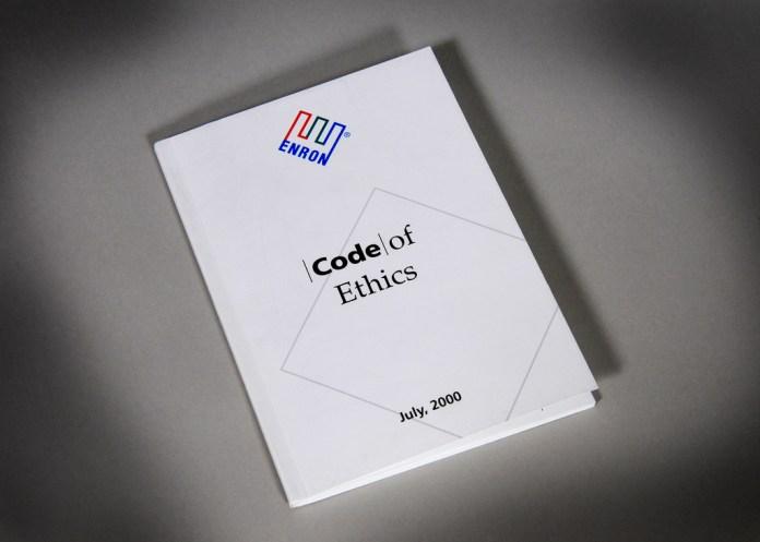 Enron code of ethics