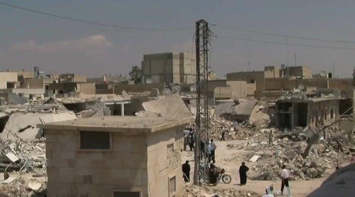 Syria during war
