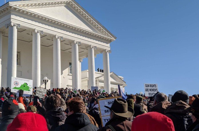 gun rights rally