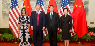Trump and Xi Families