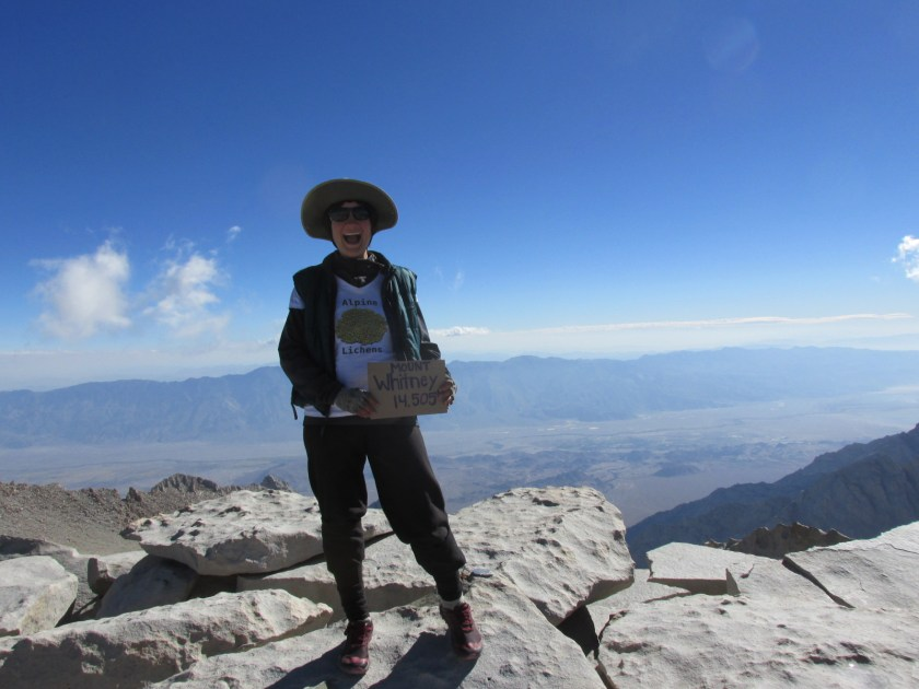 And the obligate summit photo. I was pretty darn estatic!