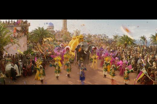 Aladdin Parade Scene