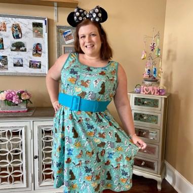 Disney Mom Outfit - Disney Dogs Dress