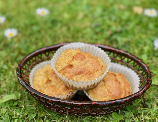Apple Banana Carrot Muffins feature image
