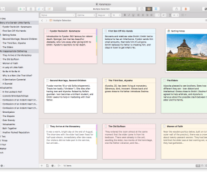 Scrivener is great for anyone who is serious about writing