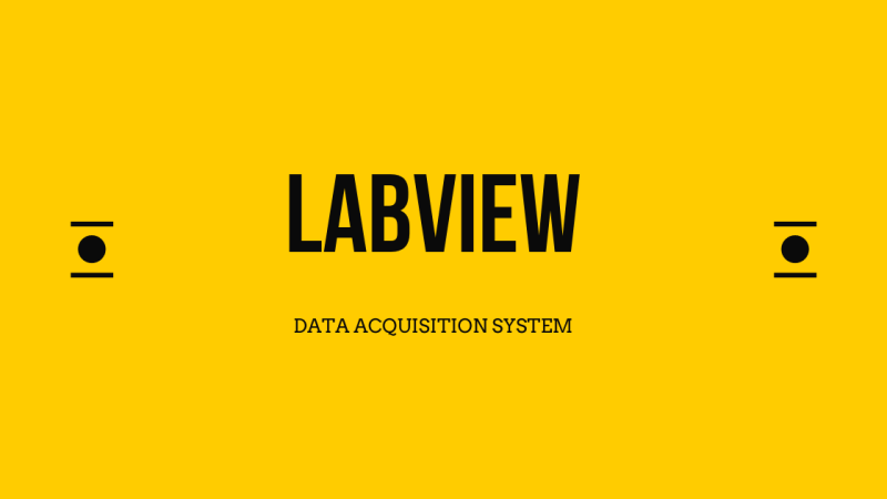 labview - data acquisition system