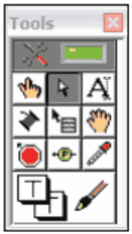 labview tools palette
