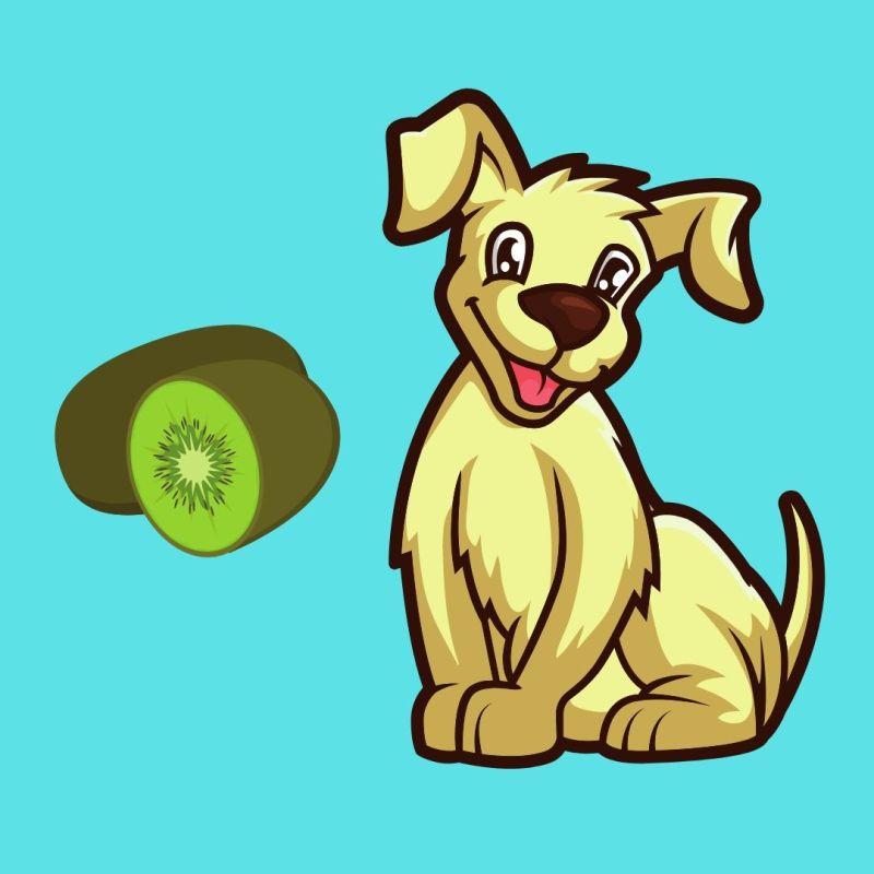 dogs eat kiwi fruit