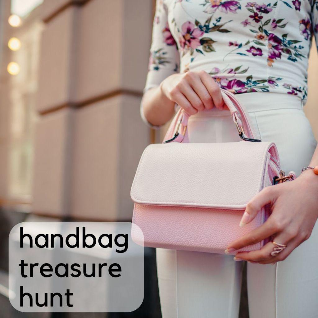 kitty party game - handbag treasure hunt
