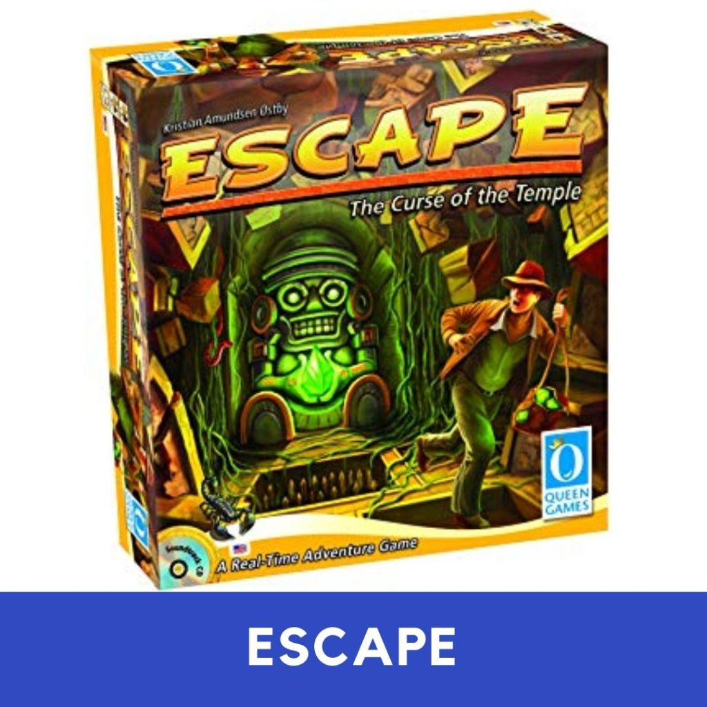 escape board game for 2 players