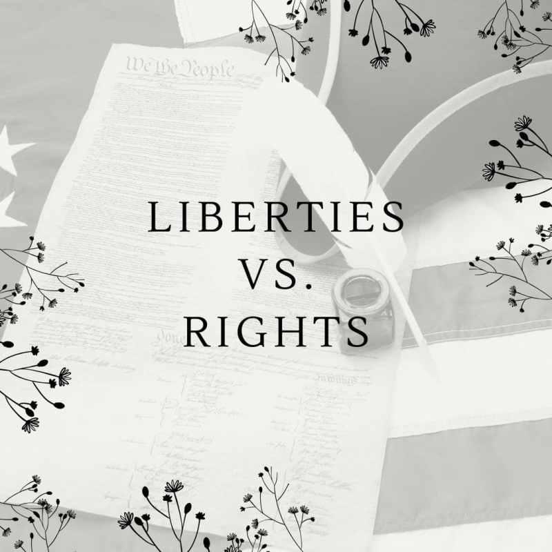 liberties vs rights