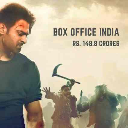 saaho box office collection india