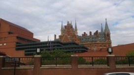 St Pancras from the side