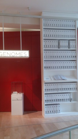 The human genome, in volumes