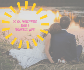 Do You Really Want To Be A Proverbs 31 Wife?
