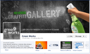 Clorex Green Works Facebook Strategy