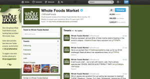 Whole Foods Twitter Case Study